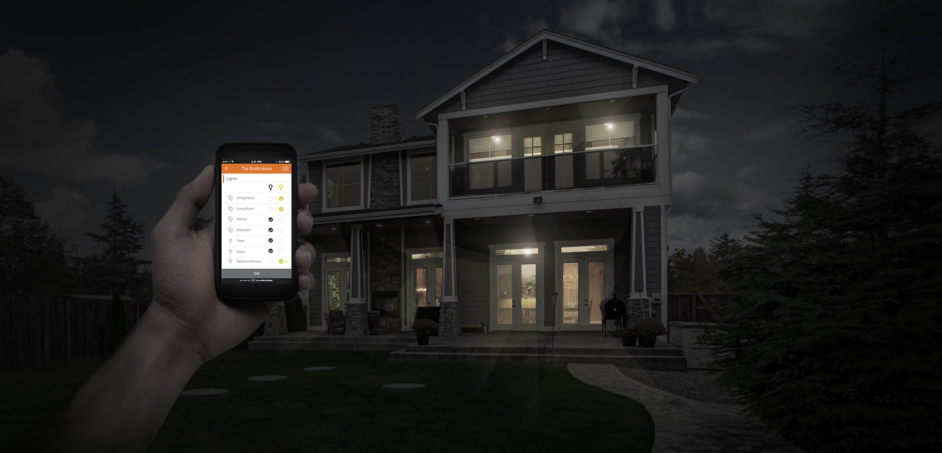 Home Automation for Safe and Peaceful Living